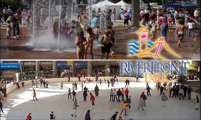 Riverfront Park - Riverside: $13 for Two Winter Day Passes ($27.50 Value) or $16 for Two Summer Day Passes ($32.50 Value) to Riverfront Park