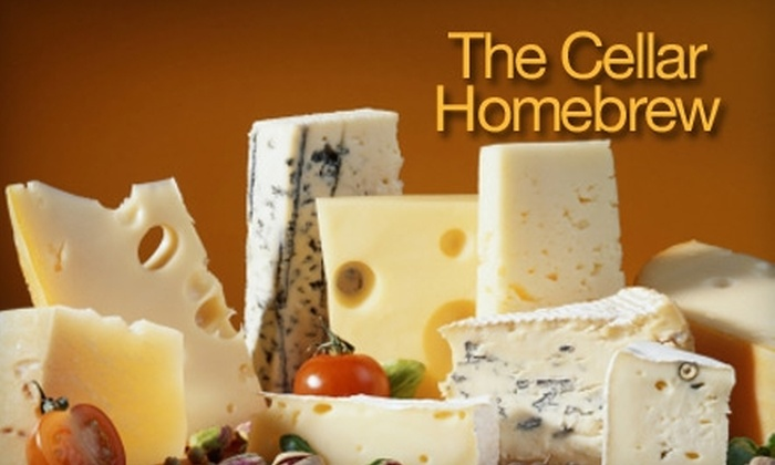 The Cellar Homebrew - Bitter Lake: $25 for a Basic Cheese-Making Class at The Cellar Homebrew ($50 Value). Choose Between Two Options.