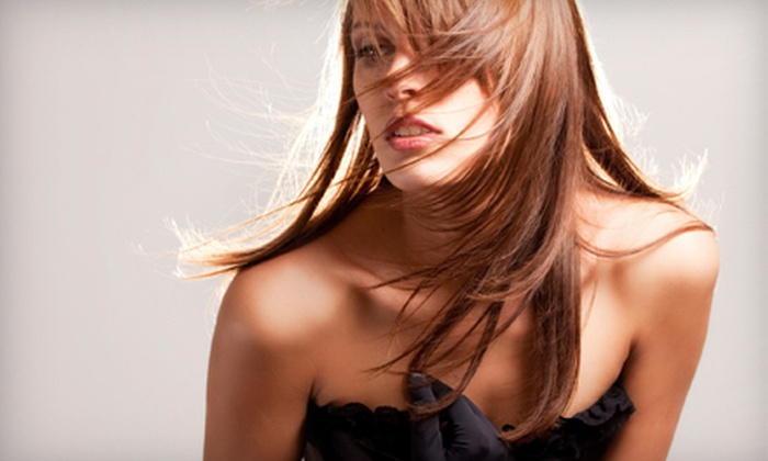 Mary Beth @ Salon Avanti - Stockton: $39 for a Salon Package with Haircut, Color or Partial Highlights, and Style from Mary Beth @ Salon Avanti ($105 Value)