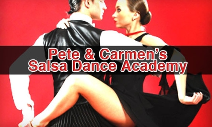 Pete and Carmen's Salsa Dance Academy - Tower District: $49 for Two Private Salsa Lessons at Pete and Carmen's Salsa Dance Academy ($120 Value)