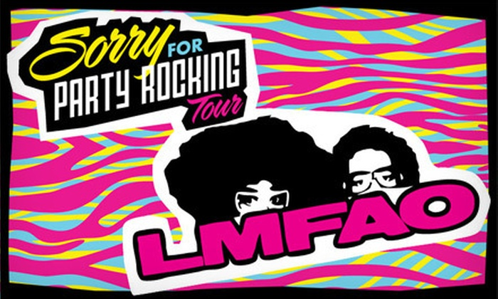 Red Foo & Cherry Tree Present Sorry for Party Rocking Tour featuring LMFAO - Coliseum Industrial Complex: $25 for One General-Admission Floor G-Pass to See LMFAO and Far East Movement at Oracle Arena on June 8 at 7 p.m. (Up to $75.25 Value)