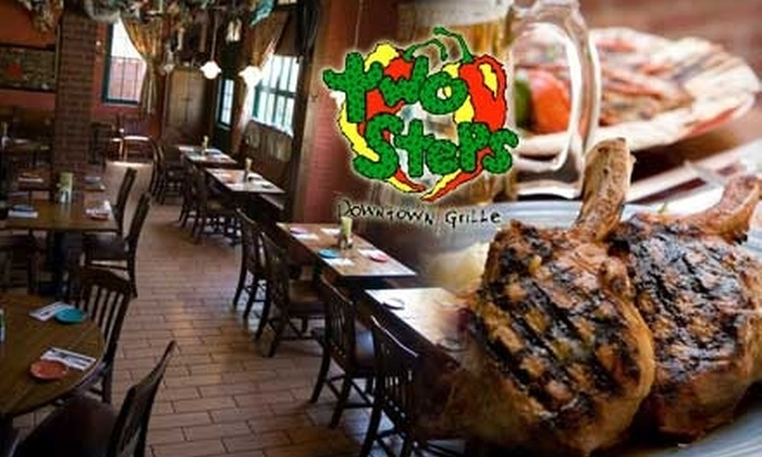 Two Steps Downtown Grille - Danbury: $10 for $20 Worth of American Fare and Drinks at Two Steps Downtown Grille in Danbury