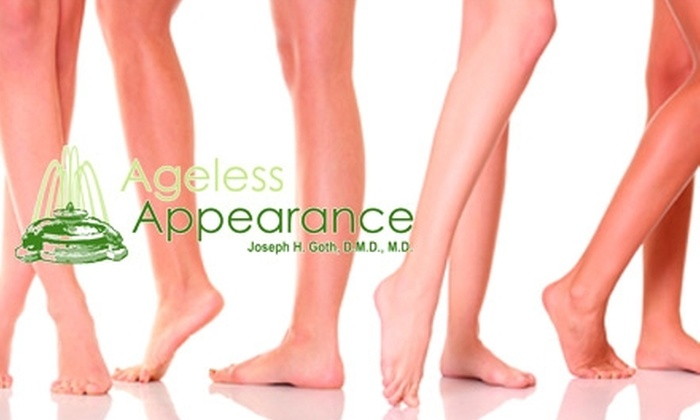 Ageless Appearance - Coraopolis: Four Laser Hair-Removal Sessions at Ageless Appearance in Coraopolis. Choose Between Two Pricing Options.