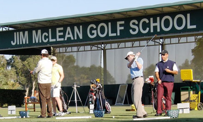 Jim McLean Golf Schools - Links At Waterchase: Golf Packages with One- or Two-Hour Lessons at Jim McLean Golf Schools
