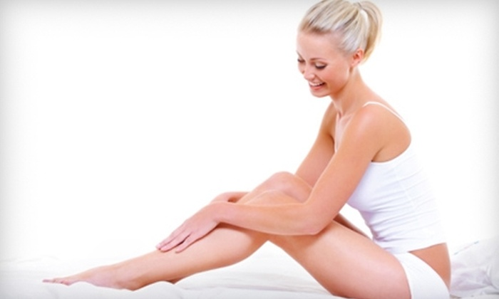 Aphrodite Advanced Esthetic & Skin Care Clinic - McLean: Six Laser Hair-Removal Treatments at Aphrodite Advanced Esthetic & Skin Care Clinic in McLean. Three Options Available.