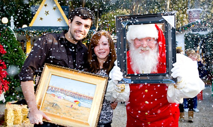 Sawdust Art & Craft Festival - Laguna Beach: $6 for a Winter Fantasy Outing for Two Adults at Sawdust Art & Craft Festival in Laguna Beach ($12 Value)