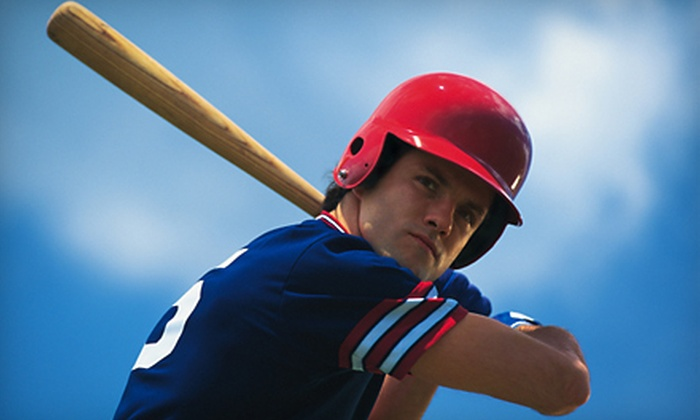 Brickyard Cages - San Diego: $12 for Batting-Cage Session at Brickyard Cages ($24 Value)
