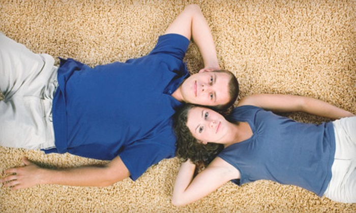 Oxy-Dry - Kelowna: $49 for Three Rooms of Carpet Cleaning from Oxy-Dry (Up to $99 Value)