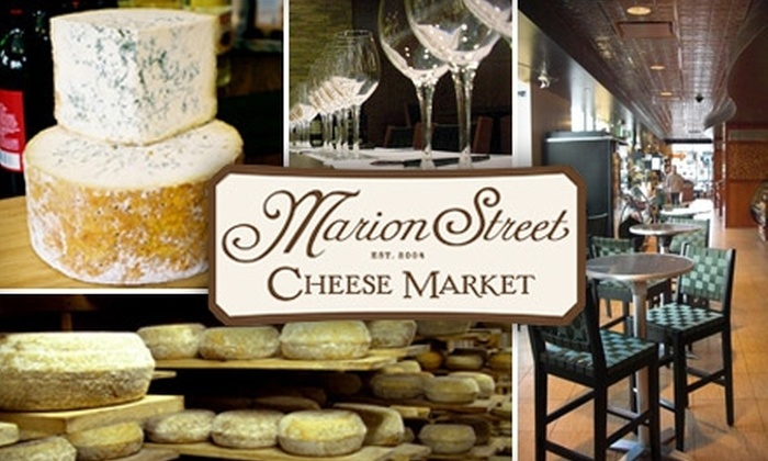 Marion Street Cheese Market - Oak Park: $20 for $40 Worth of Cheese Flights, Beers, and More at Marion Street Cheese Market in Oak Park