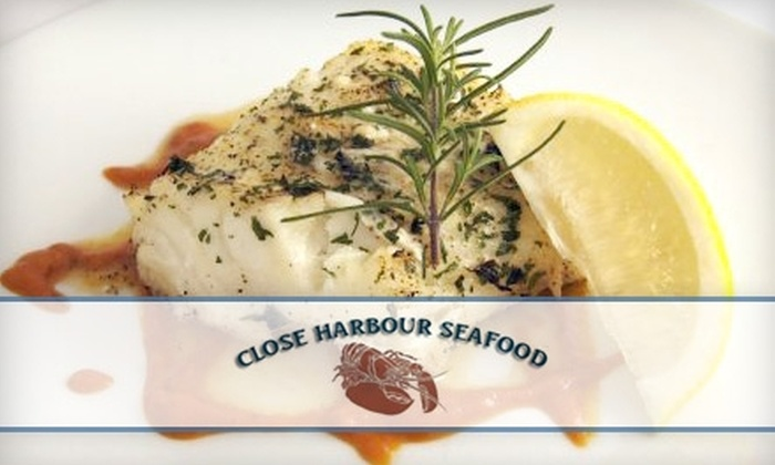 Close Harbour Seafood - Southington: $10 for $20 Worth of Savory Sea Fare and a 20% Market Discount at Close Harbour Seafood