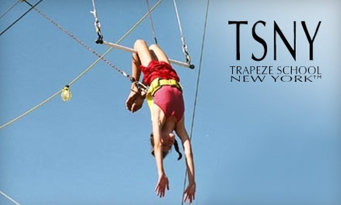 Trapeze School New York - Downtown Santa Monica: $35 for One Trapeze Class at Trapeze School New York in Santa Monica (Up to $79 Value)