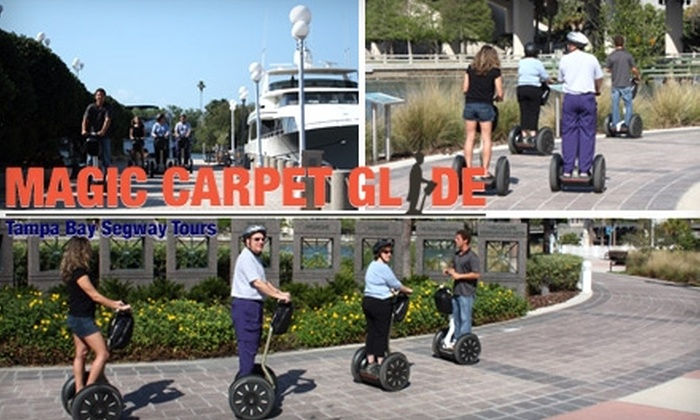 Magic Carpet Glide Segway Tours - Tampa Bay Area: $65 for a Segway Tour of Tampa Bay from Magic Carpet Glide