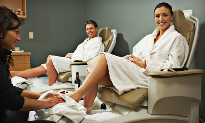 Shear Bliss Salon and Day Spa - Colonial Townpark: $139 for Spa Day for Two with Massage and Nailcare at Shear Bliss Salon and Day Spa in Lake Mary ($300 Value)