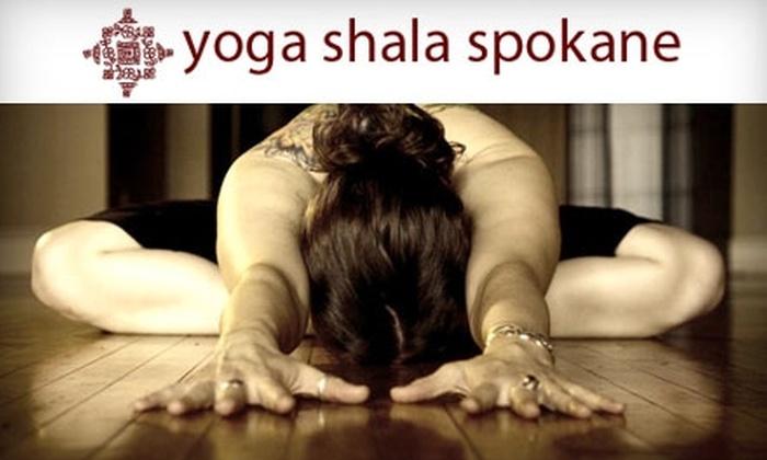 Spokane Yoga Shala - Rockwoods: $30 for Five Drop-In Classes at Spokane Yoga Shala