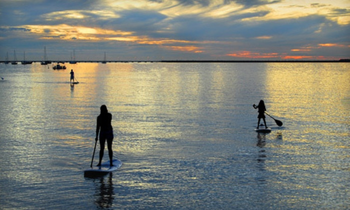 Koha Yoga - Pewaukee: Standup-Paddleboard Lesson for One, Two, or Four at Koha Yoga in Pewaukee (Up to 58% Off)