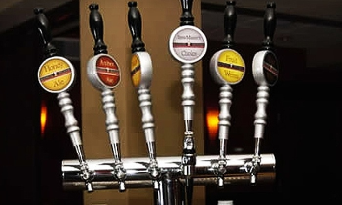 Riverside Brewery & Restaurant - Milwaukee: $10 for $20 Worth of American Fare and Craft Brews at Riverside Brewery & Restaurant in West Bend