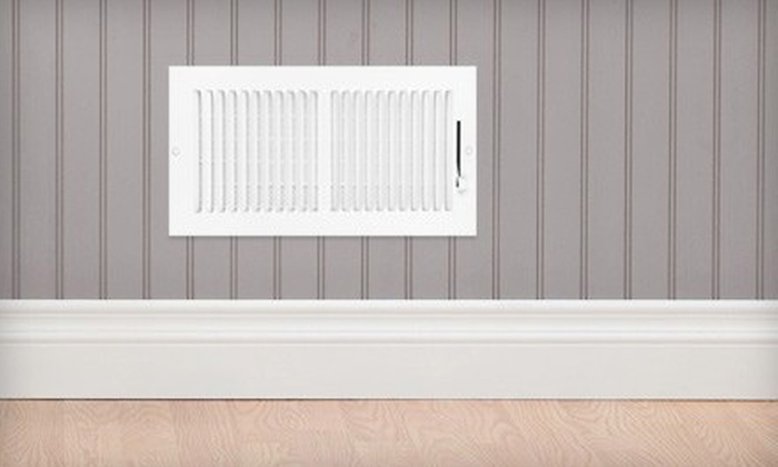 Eco Active Home Solutions - Jordan Station: Cleaning for Up to 10 Air Ducts with Optional Air-Conditioner Cleanup from Eco Active Home Solutions (Up to 60% Off)