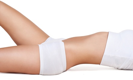 One Sensol body slimming wrap in laser tunnel
