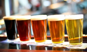Tun Tavern Restaurant and Brewery: $14 for Two Five-Beer Flights  and One Appetizer at Tun Tavern Restaurant and Brewery ($26.99 Value)