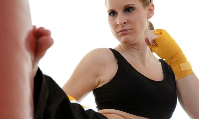 Power Defense Kickboxing - Power Defense Kickboxing: 5 or 10 Kickboxing at Power Defense Kickboxing (Up to 56% Off)