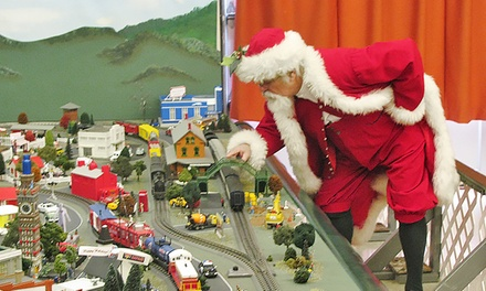 Fire Museum of Maryland Visit and Photo with Santa for Two Adults and One Kid or One Adult and Two Kids (Up to 48% Off)