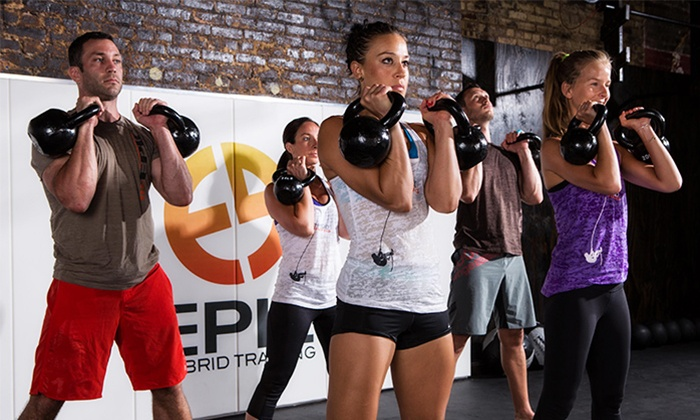 Epic Gym - Midtown Manhattan: One Month of Unlimited Fitness Classes for One or Two at Epic Hybrid Training (Up to 68% Off)
