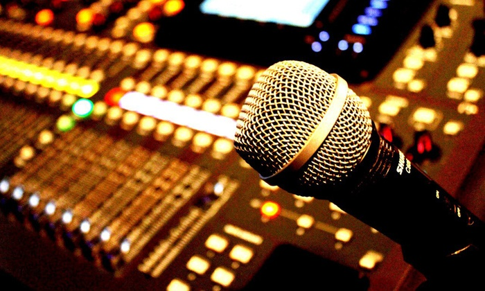 DFW Studio 8 - North Richland Hills: Four- or Six-Hour Recording Session at DFW Studio 8 (Up to 56% Off)
