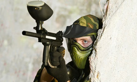 Paintball with Equipment Rental for 4, 8, or 12 at BattlegroundZ (Up to 78% Off)