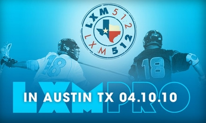 LXM PRO - Davenport Ranch West: $15 Ticket to LXM PRO Lacrosse and Live Music Tour on Saturday, April 10 ($32.64 Value)