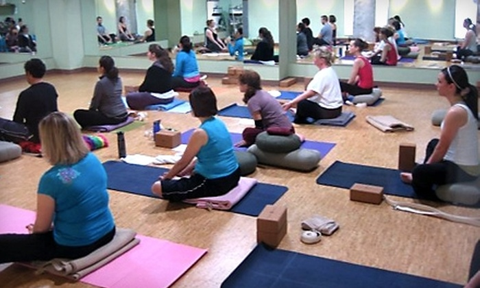 Just Breathe, A Wellness Sanctuary - Downtown Phoenix: $49 for a 10-Class Package and $50 Toward Massage Services at Just Breathe, A Wellness Sanctuary ($150 Value)