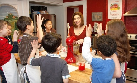 $100 Groupon to The Kids Cooking Corner - The Kids Cooking Corner in Vancouver
