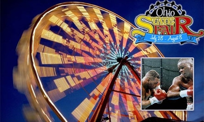"Ohio State Fair - Fairgrounds: $50 to Meet and Greet with Boxing Legend James ""Buster"" Douglas plus Autographed Photo, Book, and Two Adult Tickets to Ohio State Fair ($125 Value)"