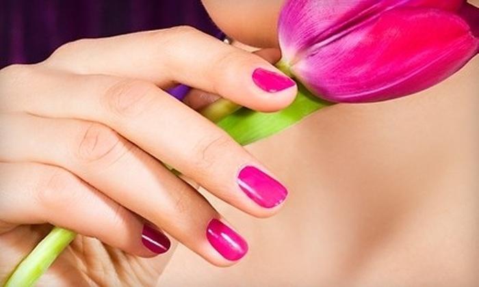 Liazon Nail, Lash & Make-up Studio - Norfolk: Shellac Manicure, Eyelash Extensions, or Classic Manicure at Liazon Nail, Lash & Make-up Studio in Norfolk (Up to 51% Off)