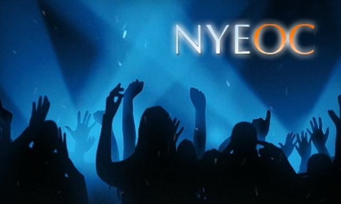 New Year's Eve OC - Costa Mesa: $20 for One General-Admission Ticket for New Year's Eve OC (Up to $75 Value)