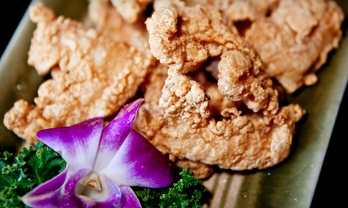 Galangal - Syosset: Thai and Japanese Cuisine for Lunch or Dinner at Galangal in Syosset (Up to 52% Off)