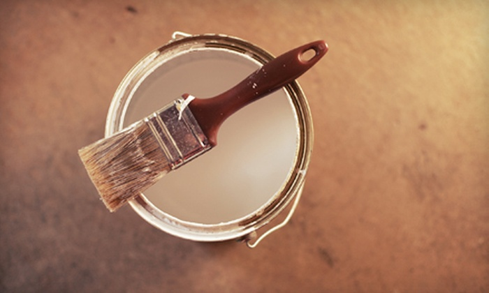 MS Handyman - Taylor: Painting in One, Two, or Three Rooms from MS Handyman (Up to 83% Off)