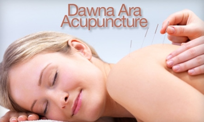 Dawna Ara - West Central: $69 for an Acupuncture Facial Rejuventation Treatment with Neck and Shoulder Massage at Dawna Ara
