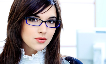 C$175 Groupon Toward Prescription Glasses with a Free Second Pair from Optiks International