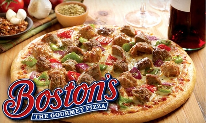 Boston's The Gourmet Pizza - Continental Ranch Retail Center: $10 for $20 Worth of Pizza, Burgers, and More at Boston's The Gourmet Pizza