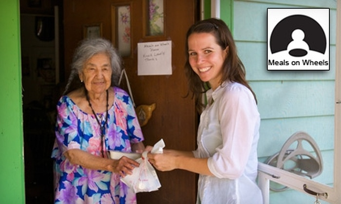 Meals on Wheels and More: Donate $15 to Help Meals on Wheels and More Provide a Week's Worth of Meals to at Least 20 Homebound Community Members