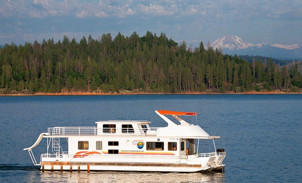 TripAlertz wants you to check out 7-Night Stay in a Senator or Presidential Houseboat at Silverthorn Resort in Redding, CA Fully Equipped Houseboats on Lake Shasta - Lake Shasta Houseboats