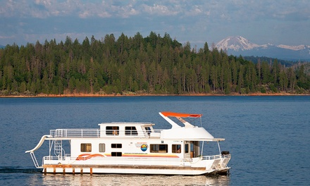 Groupon Deal: 7-Night Stay in a Senator or Presidential Houseboat at Silverthorn Resort in Redding, CA