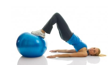 Palla per fitness e pilates. Vari colori disponibili