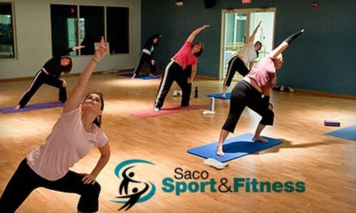 Saco Sport & Fitness - Saco: $20 for a One-Month Membership and Unlimited Classes at Saco Sport & Fitness ($69 Value)