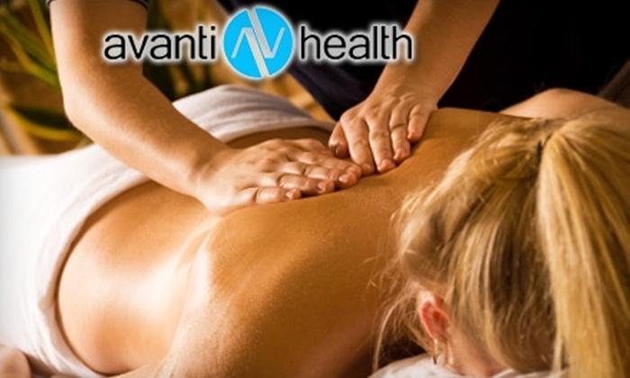 Avanti Health - Ironwood Professional Plaza: $30 for a 60-Minute Massage at Avanti Health in Coeur d'Alene ($60 Value)