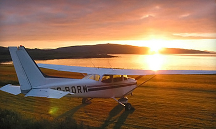 Washington International Flight Academy - Gaithersburg: $71 for a Discovery Flight and Ground Instruction at Washington International Flight Academy in Gaithersburg ($145 Value)