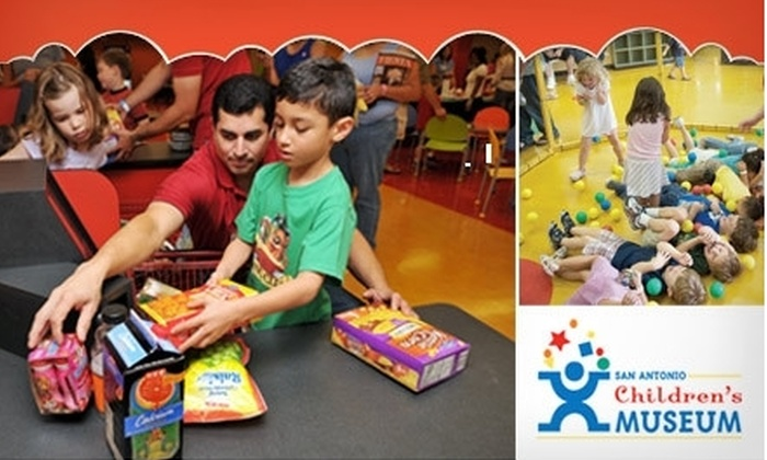 San Antonio Children's Museum - Downtown: $30 for a One-Year Family Membership to the San Antonio Children's Museum ($65 Value)
