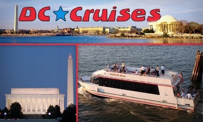 Half Off Tour From DC Cruises - DC Cruises