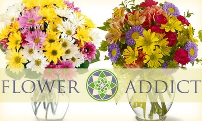 Flower Addict - Cameron Hills: $20 for $50 Worth of Seasonal Floral Arrangements at Flower Addict