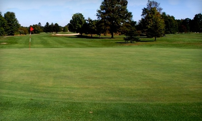 Miry Run Country Club - Robbinsville: $48 for 18 Holes of Golf for Two and Cart Rental at Miry Run Country Club in Robbinsville (Up to $96 Value)